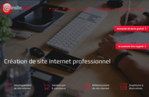 Réalisation site web ainsitenet à Beard-Géovreissiat