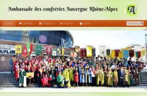 Réalisation ambassade confreries rhône-alpes