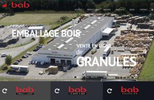 Réalisation site web bab emballages