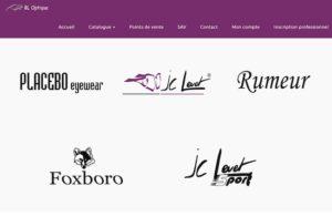 Réalisation site web bl-optique à Vaux les St Claude
