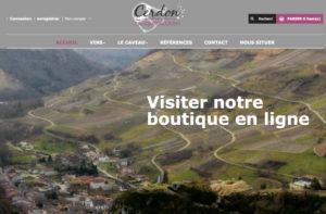 Réalisation site web cave girardi-dupoyet à Cerdon