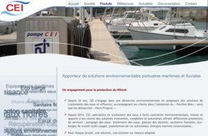 Réalisation cei-marine à Port