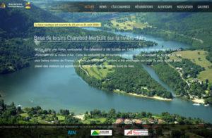Réalisation site web Ile Chambod