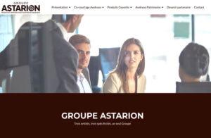 Réalisation site Groupe Astarion à Izernore