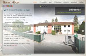 Réalisation hotel-le-relax à Maillat