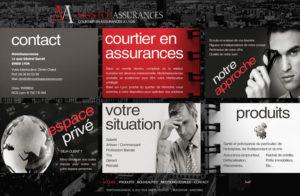 Réalisation site web montchassurances à Lyon