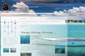 Réalisation site web nautiscaphe à Port