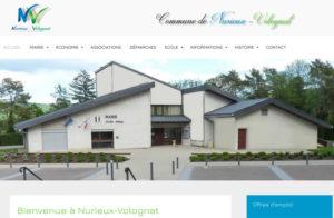 Réalisation site web nurieux-volognat