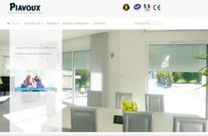 Réalisation site web Piavoux Volets Roulants à Ceignes