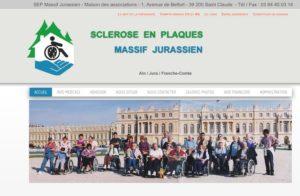 Réalisation site web sep-massif-jurassien à Vaux les St Claude