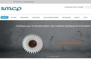 Réalisation site web smcp-moules à Nurieux-Volognat