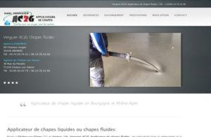 Réalisation site web Verguier Ac2g à Thoirette