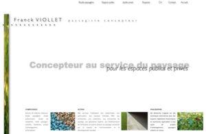 Réalisation site web Viollet à Ambérieu